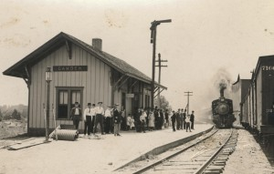 Camden Depot 1900 (Carroll County Historical Museum)